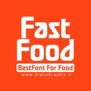 دانلود فونت انگلیسی Fast Food