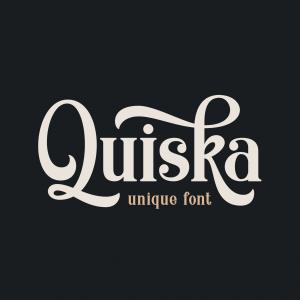 دانلود رایگان فونت انگلیسی Quiska