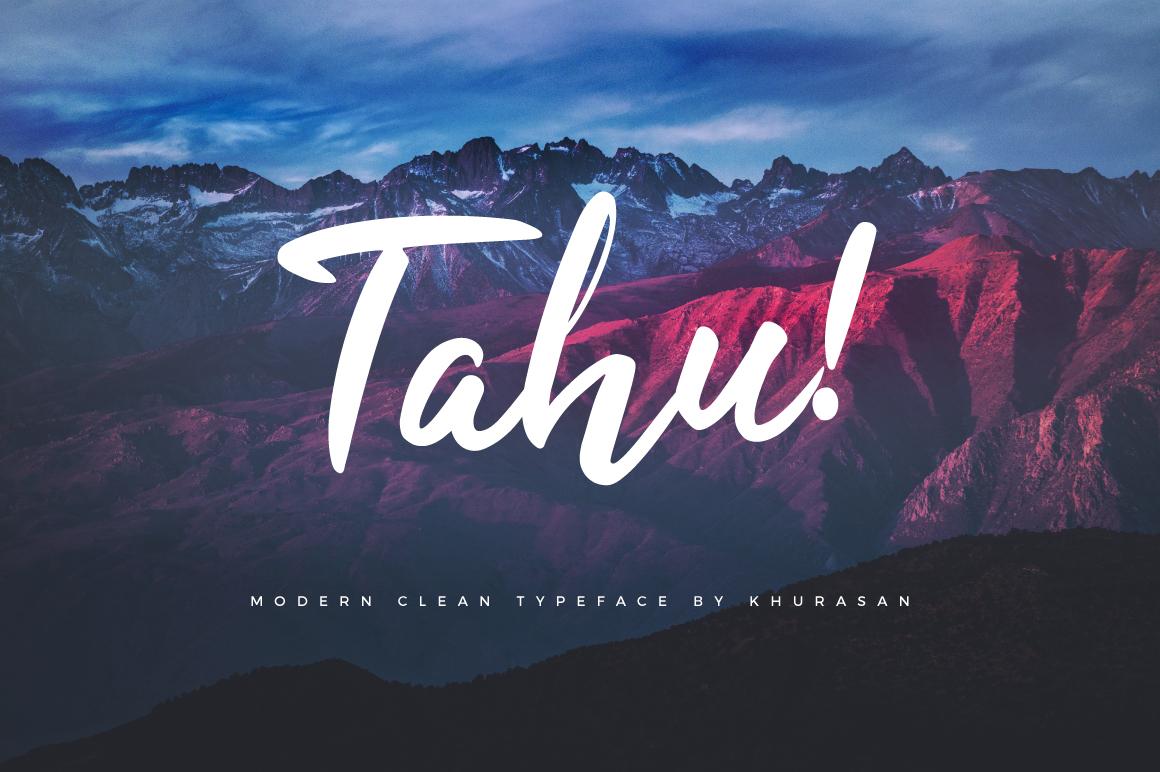 دانلود رایگان فونت انگلیسی Tahu