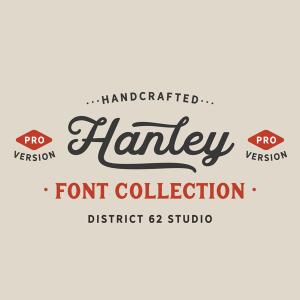 دانلود مجموعه فونت های انگلیسی Hanley