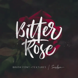 دانلود رایگان فونت انگلیسی Bitter Rose