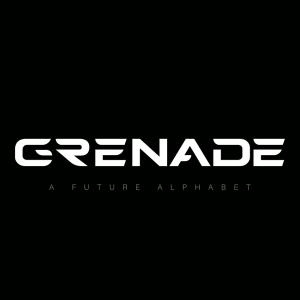 دانلود لایه باز فونت انگلیسی Grenade