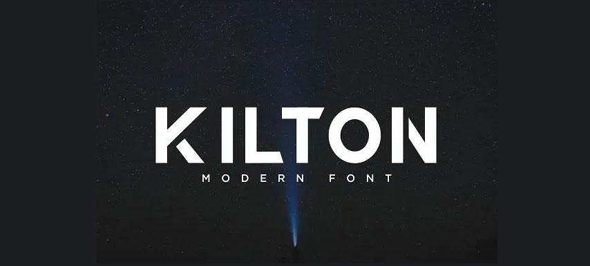 دانلود فونت انگلیسی KILTON