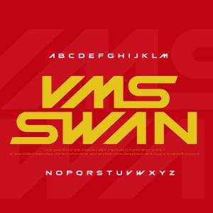 دانلود فونت انگلیسی لایه باز Swan