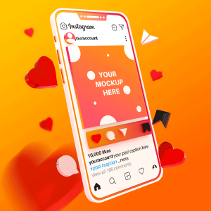 دانلود موکاپ شبکه های اجتماعی برای فتوشاپ