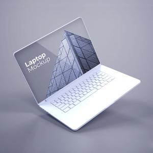 دانلود موکاپ لپ تاپ سری جدید به صورت لایه باز برای فتوشاپ