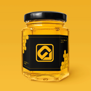 دانلود موکاپ شیشه عسل