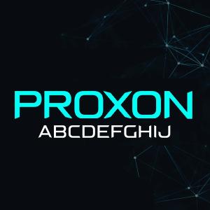 دانلود فونت انگلیسی پریمیوم Proxon Font
