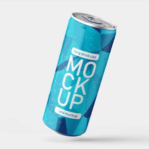دانلود موکاپ بطری فلزی به صورت لایه باز برای فتوشاپ