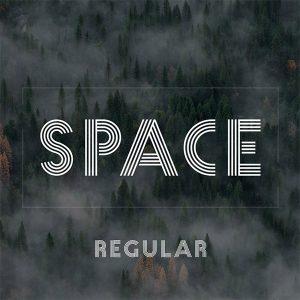 دانلود رایگان فونت انگلیسی Space